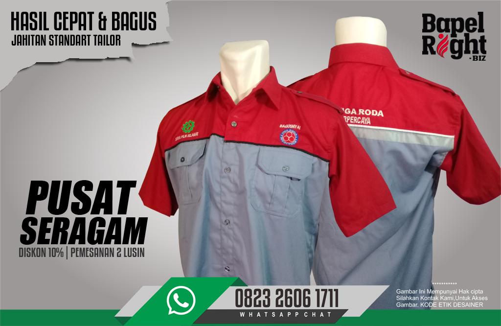 seragam karyawan | model baju karyawan