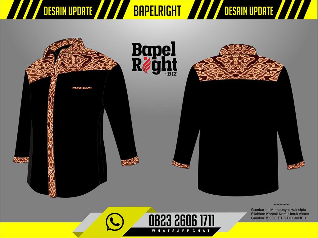 Baju BPD Kombinasi Batik