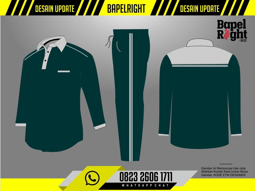 desain baju kaos olahraga hijau botol abu abu