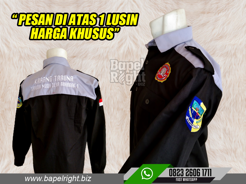 baju karang taruna bolaang mongondow sulawesi